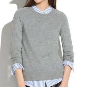 Madewell 100% Merino Wool Sweatshirt Sweater